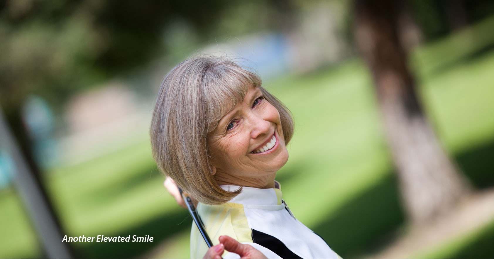 Bakersfield Orthodontist Smiling Mature Woman